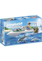 Playmobi Bateau de Plongée 6981