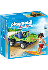 Playmobil Surfista con Quad