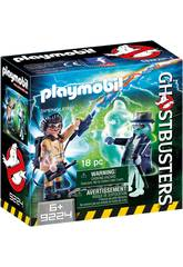 Playmobil Spengler y Fantasma Ghostbusters 9224