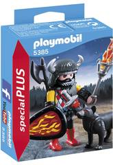 Playmobil Guerriero del Lupo 5385
