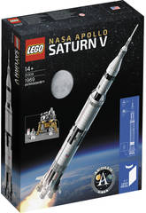 Lego Nasa Misión Apollo XI -Saturno V- 21309