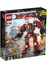 Lego Ninjago Feuer-Roboter 70615