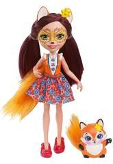 Boneca Enchantimals e Pet Fox Mattel DVH89