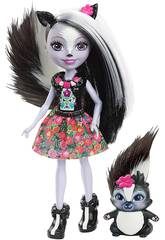 Enchantimals Muñeca y Mascota Mofeta Mattel DYC75