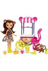 Enchantimals Carrito De Frutas Mattel FCG93