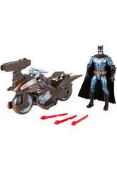 Moto Batman Avec Figurine 15 cm Mattel FGG53