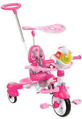 Tricycle Intelligent Evolutif 5 en 1 Rose Vtech 196857