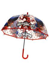 Prodigieuse Parapluie Manuel Transparent Dôme 70 cm. Kids Euroswan LB17042
