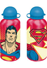 Batman y Superman Cantimplora Aluminio 500 ml.