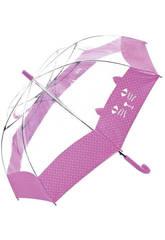 Paraguas Transparente 54/8