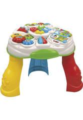Brinquedo para Bebé Mesa Educativa Multijogos Espanhol e Francês 10 - 36 Meses Clementoni 55199
