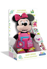 Minnie Peluche Premiers Apprentissages Clementoni 55206.1
