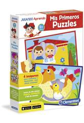 Jugando Aprendo Mi Primer Puzzle Clementoni 55116