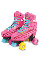 Soy Luna Light Up Patins à Roulettes (Taille 36/37)