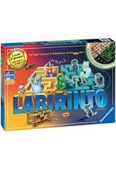 Laberinto Brilla en la Oscuridad en Italiano Ravensburger 26692