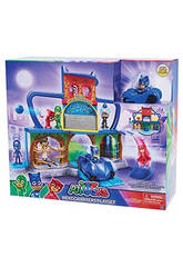 Playset PJ Masks Base Secreta Bandai 24560