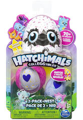 Hatchimals Coleccionable 2 Figuras Bizak 21914