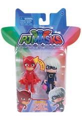 PJ Masks Figuras con Luz Bandai 24810