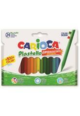 Carioca 42880 Plastello Plasticere 24 pz