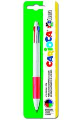 Blister Penna Maxi 4 Colori Carioca 40145