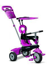 Tricycle VANILLA 4 en 1 ROSE SmarTrike