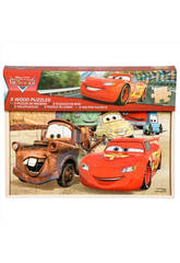 Cars Pack 3 Puzzles De Madera