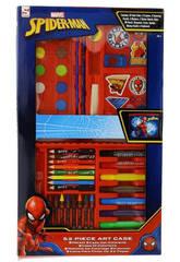 Spiderman Estuche De 52 Piezas Sambro SPE-4219