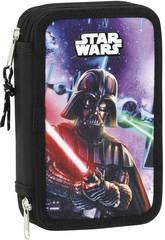 Plumier Doble Star Wars 28 Piezas Safta 411701854