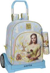 Sac à dos trolley Evolution La Belle et la Bête Safta 611708860