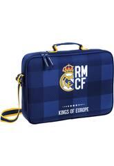 Sacoche extra-scolaire Real Madrid Bleu Safta 611724385
