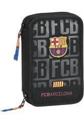 Astuccio Doppio Piccolo 34 pz F.C. Barcelona Safta 411725054
