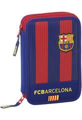 Astuccio Doppio Piccolo 34 pz F.C. Barcelona Safta 411629054