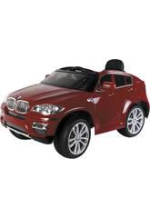 Véhicule Sportif BMW Rouge 6v. avec 2 Moteurs