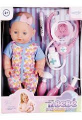 Muñeco Bebé 30cm Juega a los Médicos