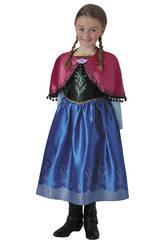 Déguisement Fille La Reine des Neiges Anna Deluxe T-S Rubies 630573-S
