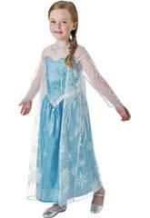 Costume Bimba Frozen Elsa Deluxe S Rubies 630574-S