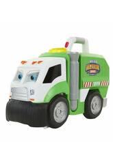 Dusty et le Super Camion Poubelle Cefa Toys 88315