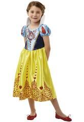 Disfraz Niña Blancanieves Classic Deluxe T-L Rubies 640712-L