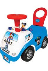 Andador Mickey Policia Atividades Luzes e Sons 35x51x25cm