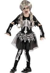 Disfraz Niños XL Esqueleta