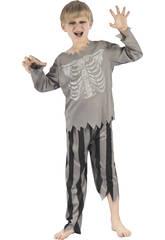 Disfraz Niños M Pirata Esqueleto