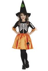 Disfraz Niños S Bruja Esqueleto