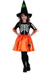 Déguisement Fille Taille XL Squelette