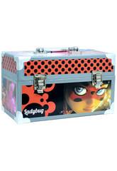 Maletín Manualidades Ladybug Con Accesorios 15.5x26x14 cm Cife 41173