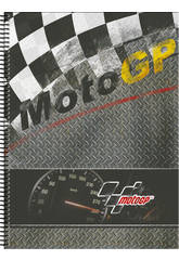 Moto GP Cahier A4 120 Pages Warm Perona 54222