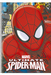 Cahier A4 80 Pages Spiderman Town Perona 54309