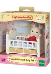Sylvanian Families Lapin Chocolat Set Bebé Epoch Pour Imaginer 5017