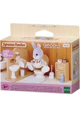 Famílias Sylvanian Toilet Set Epoch Para Imagine 5020
