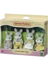 Sylvanian Families Famiglia di Coniglietti grigi Epoch 4030