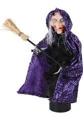 Bruxa Articulada com Sons 32cm